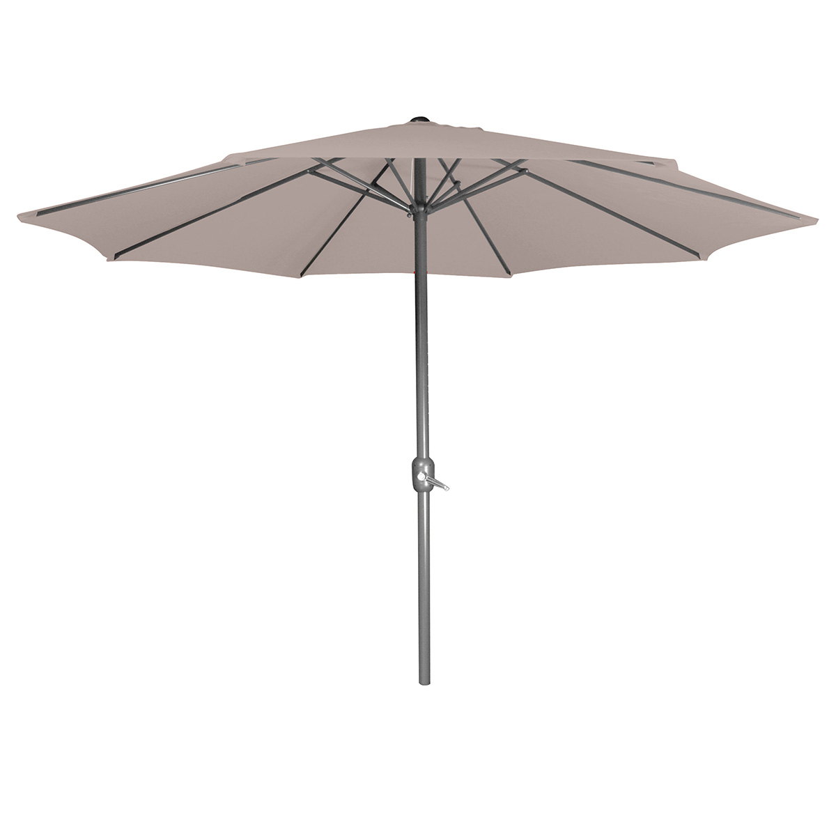 parasol taupe achat vente de parasol pas cher. Black Bedroom Furniture Sets. Home Design Ideas