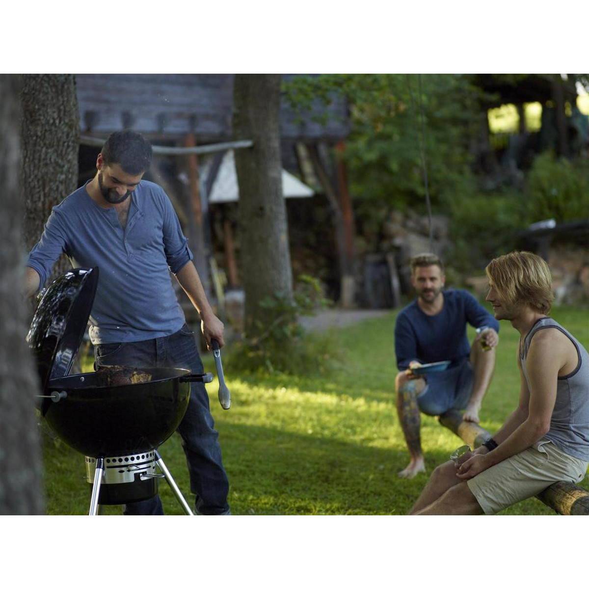 Barbecue Master touch Black Ø57 cm
