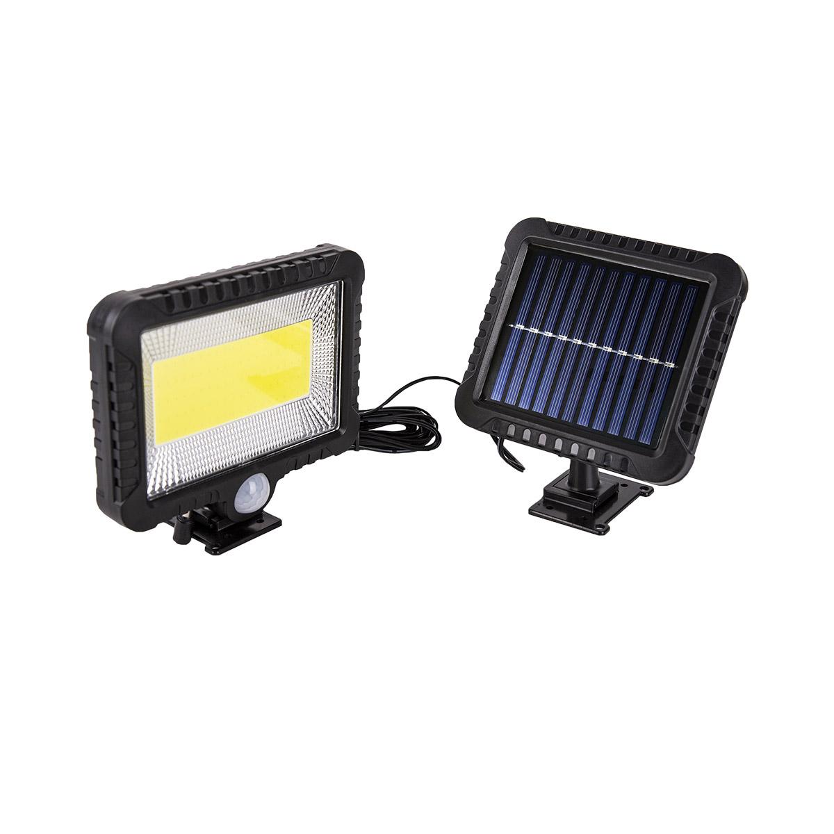 Projecteur solaire extérieur avec détecteur de mouvement