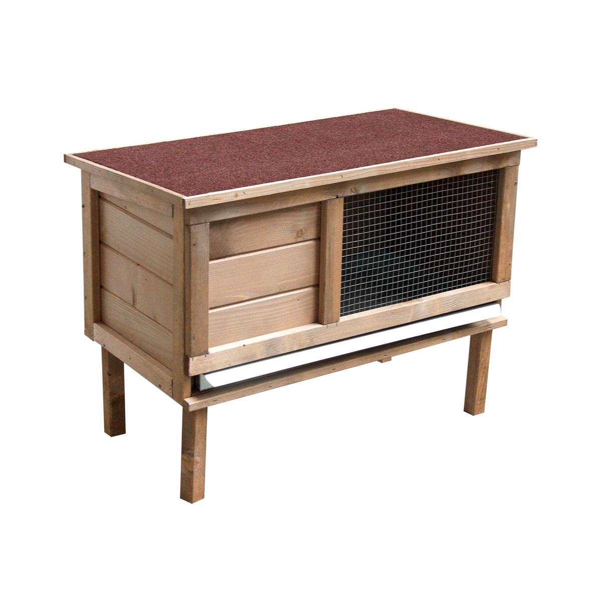 Clapier Noisette en bois