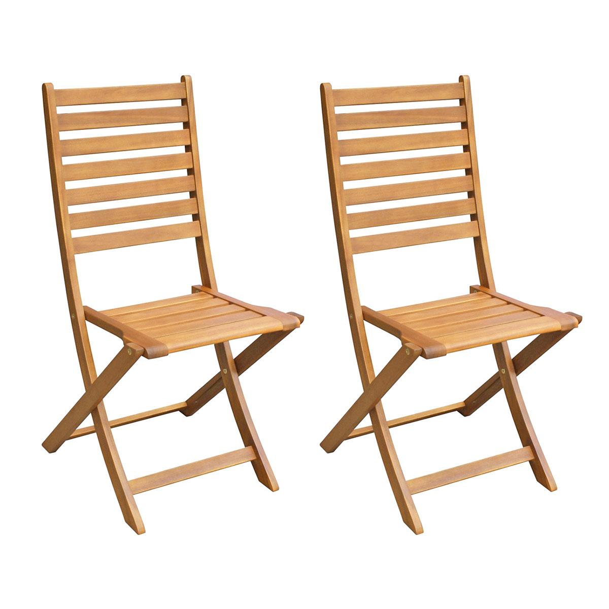 Lot de 2 chaises rio