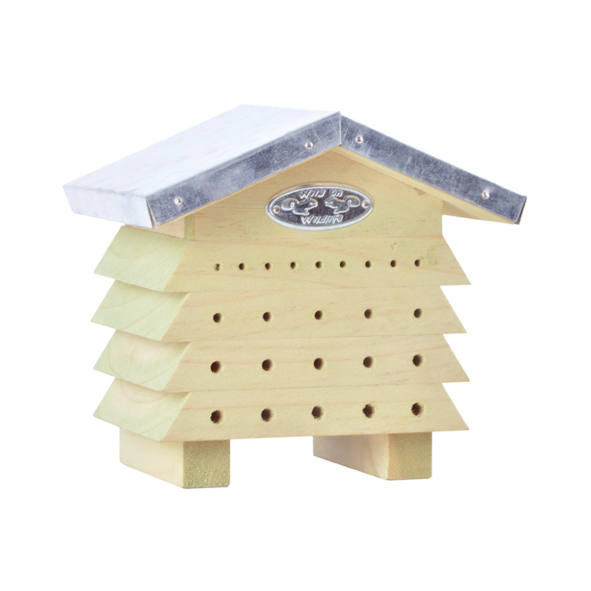 Abri À abeilles en bois et zinc