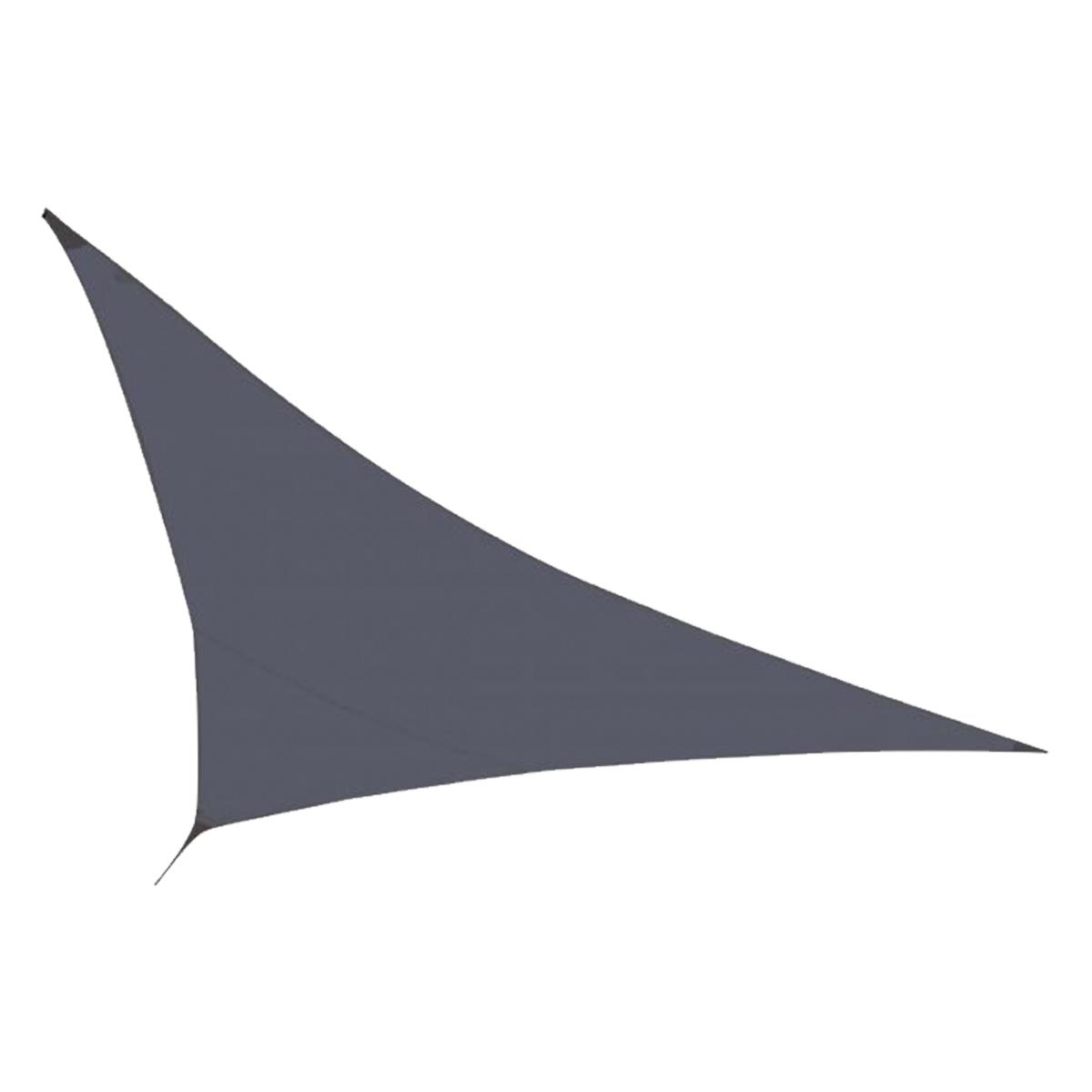 Voile d'ombrage Gris 350 x 350 x 340 cm