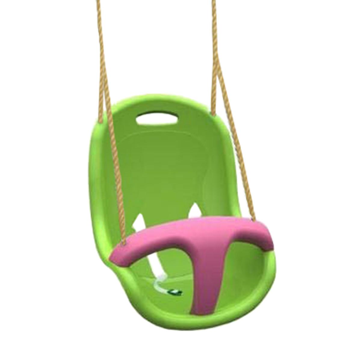 Siège Bébé (vert anis et framboise)