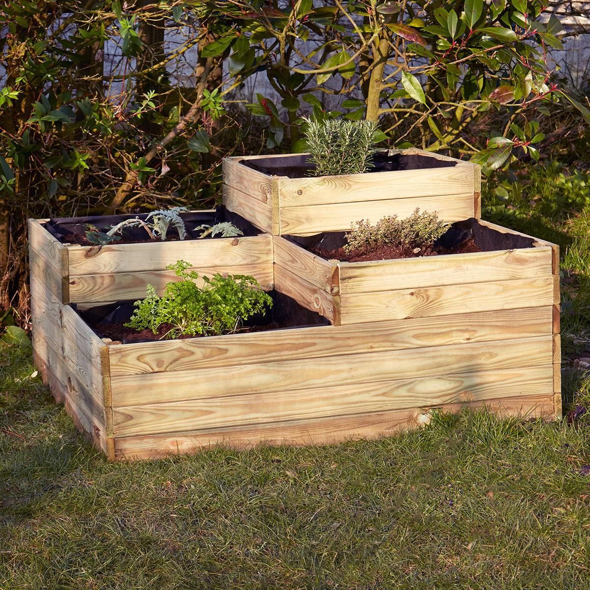 Potagers achat vente de potagers pas cher for Jardin potager bois