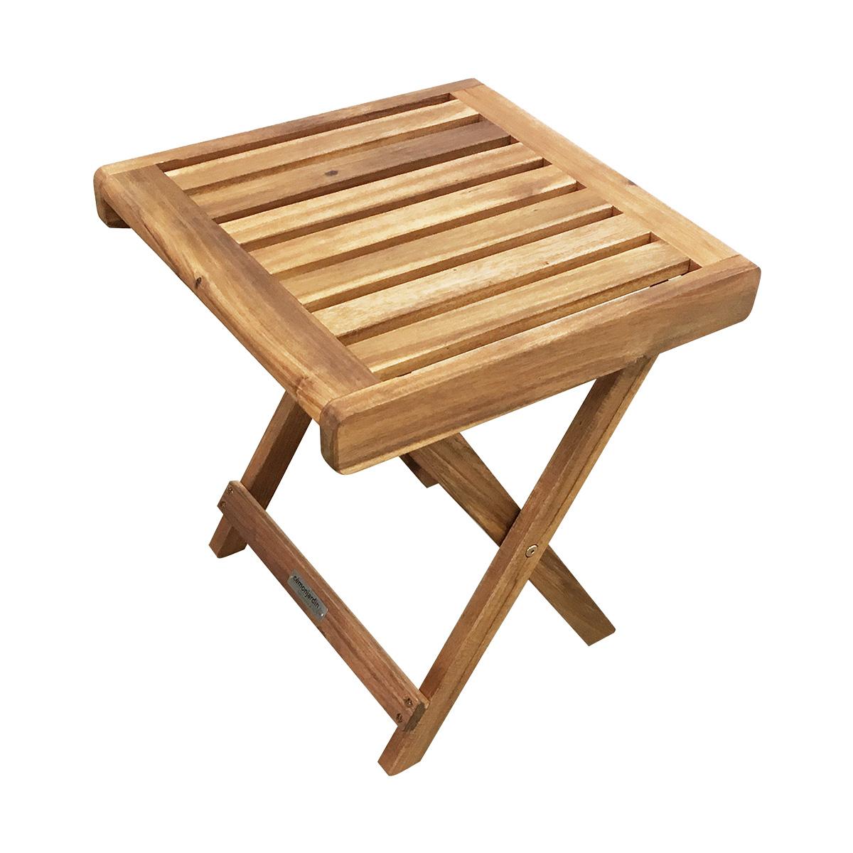 Table basse Fidgi en acacia