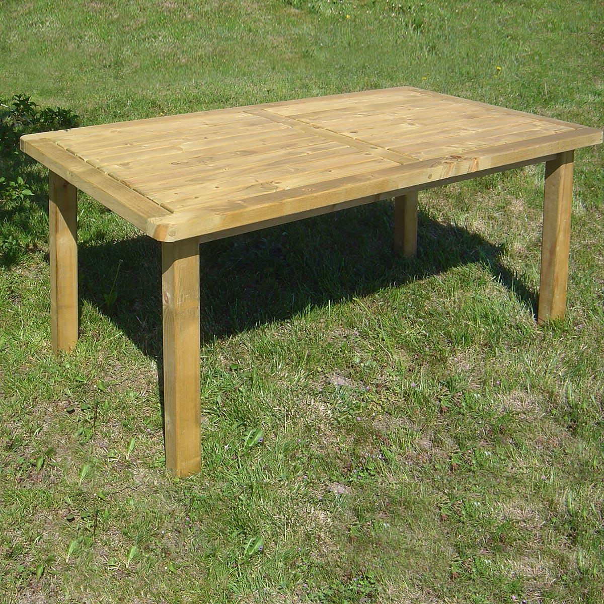 Table cortina en bois 4/6 places