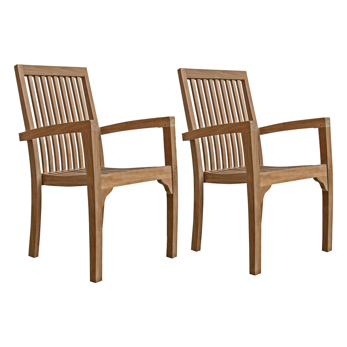 Lot de 2 fauteuils Bali