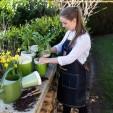Tablier de jardinage en jean et cuir - Esschert Design