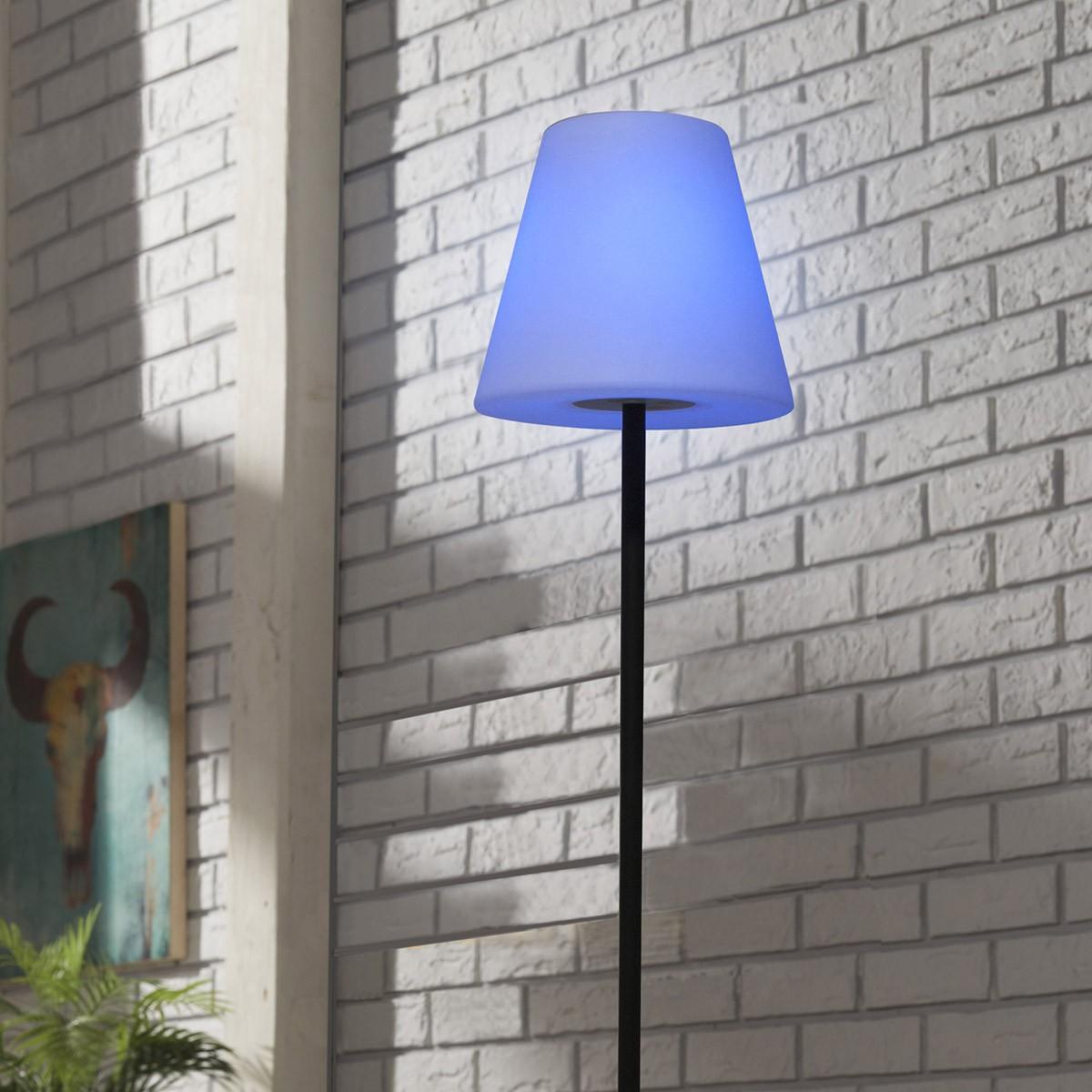 Lampadaire solaire extérieur LED