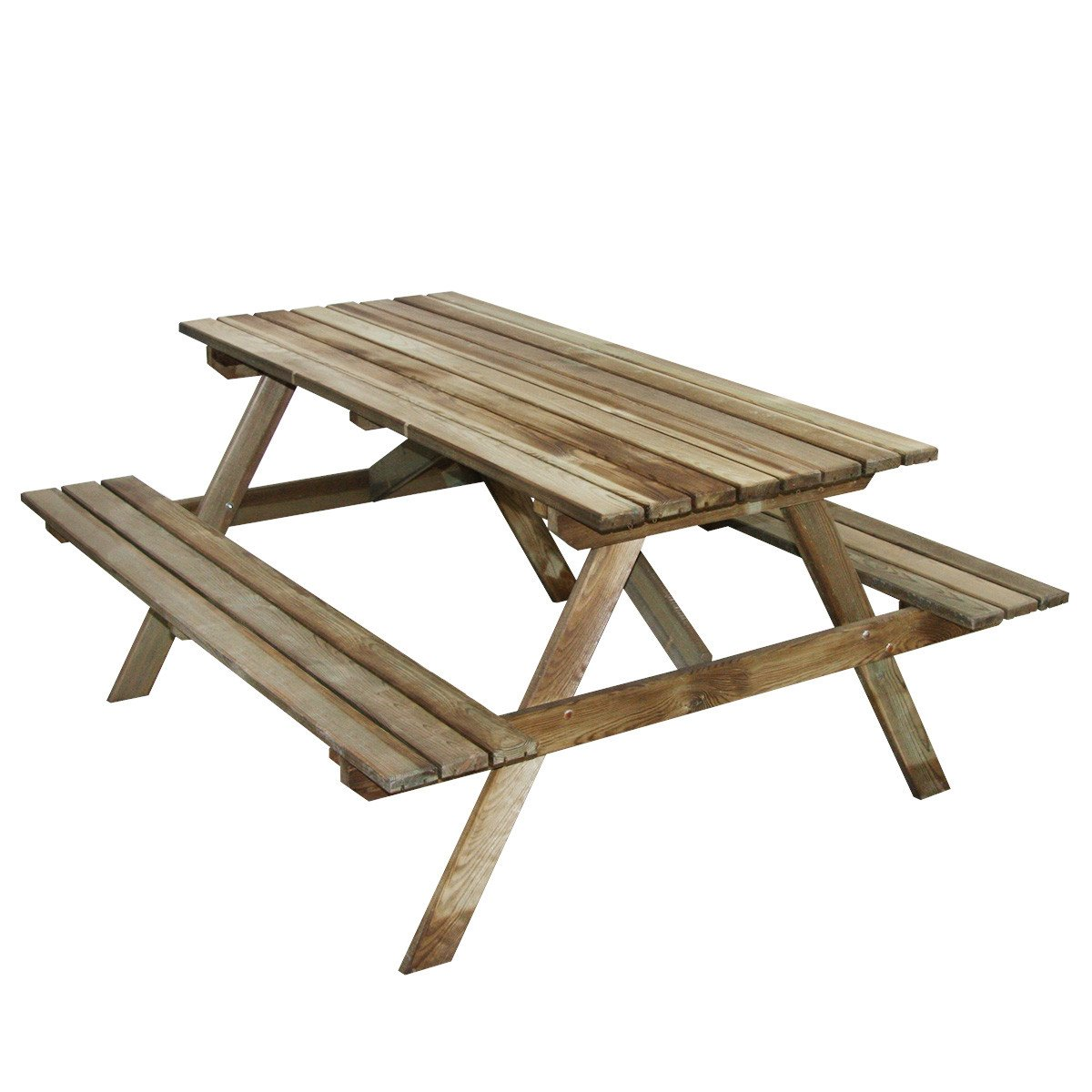 Table pique-nique en bois 4 places Marly