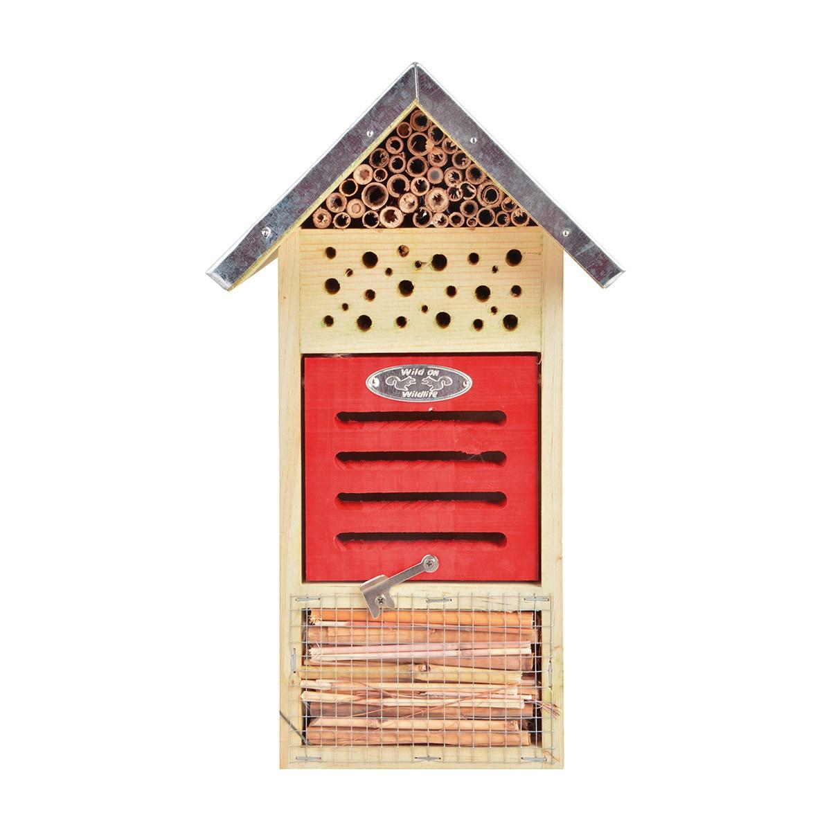Hôtel à insectes petit modèle