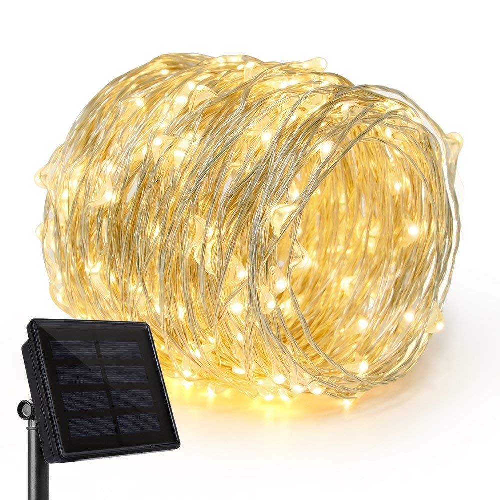 Guirlande lumineuse solaire 200 micro LED