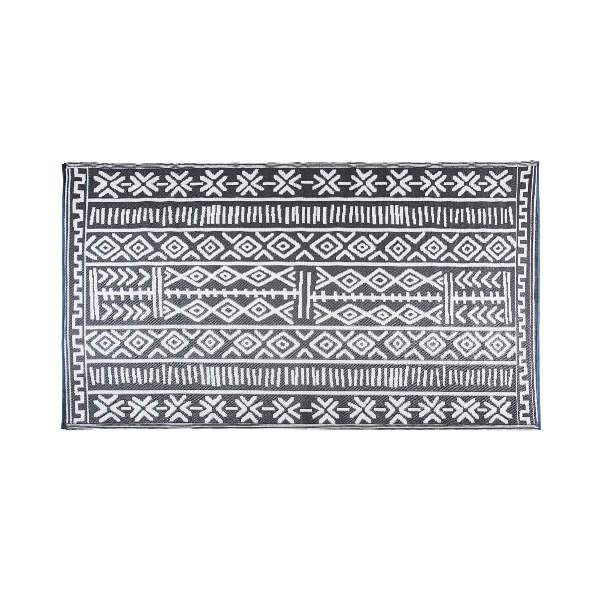 Tapis extérieur ethnique en polypropylène 120 x 180 cm