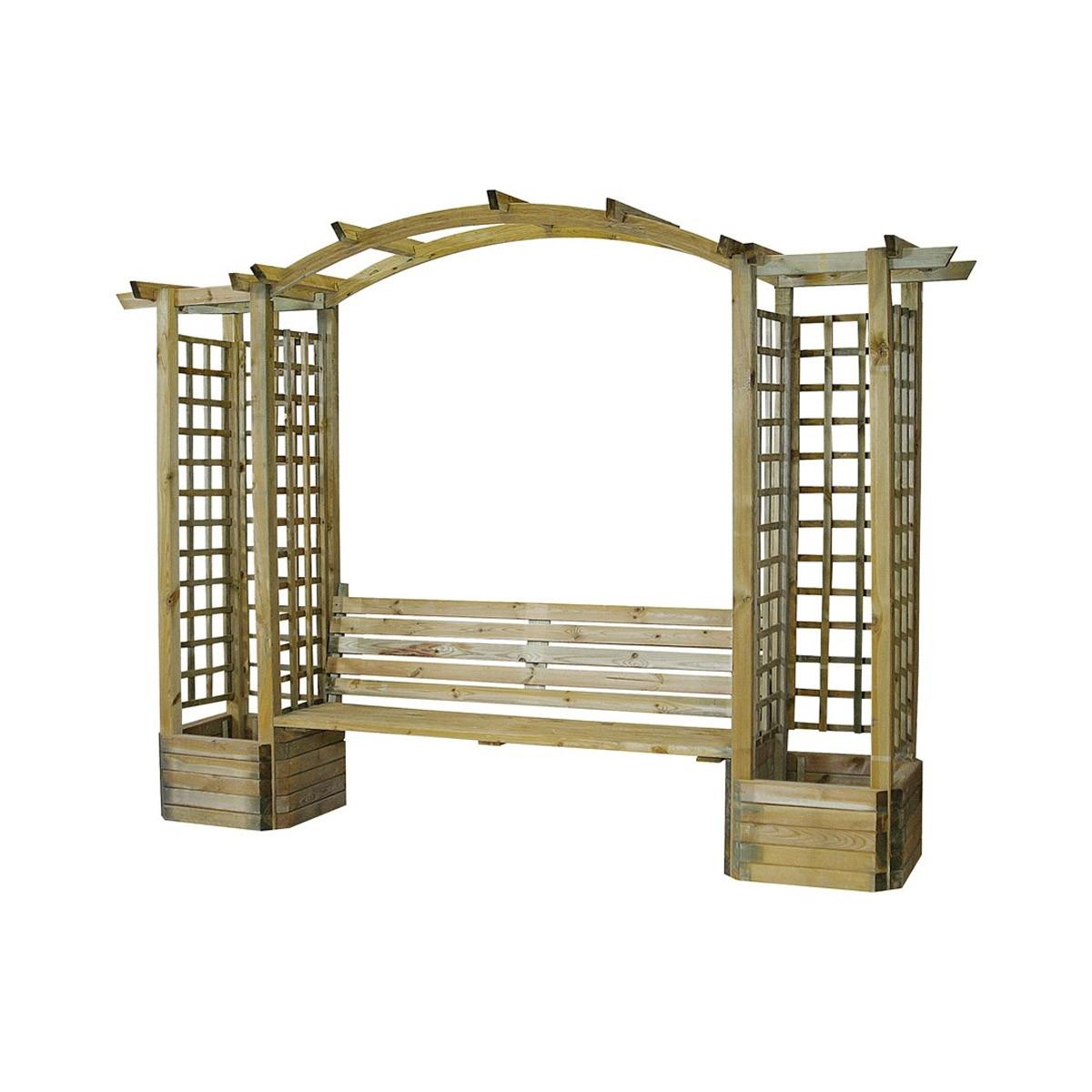 Arche de jardin Lavande en arc
