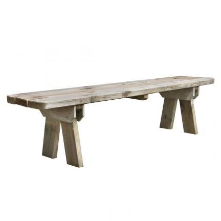 Banc de jardin en bois 4 places - Faro