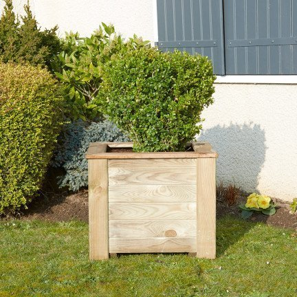 Jardinière carrée Iris 60
