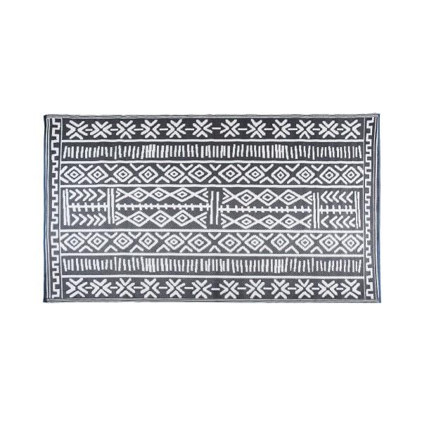 Tapis extérieur ethnique en polypropylène 180 x 270 cm