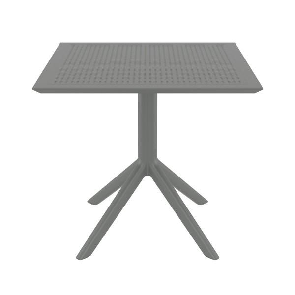 Table SKY gris en polypropylène renforcé - Siesta